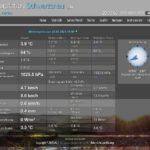 Wetterstation und Webcam